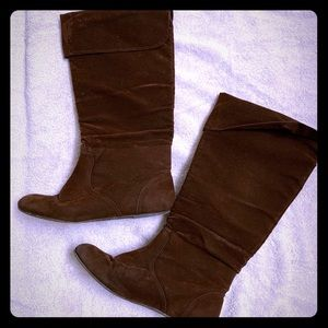 Top Moda calf chocolate Brown boots size 9